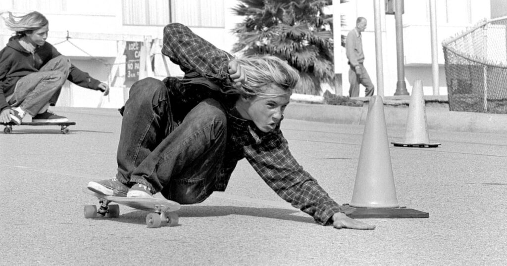 Jay Adams, one of the best skateboarders of all time