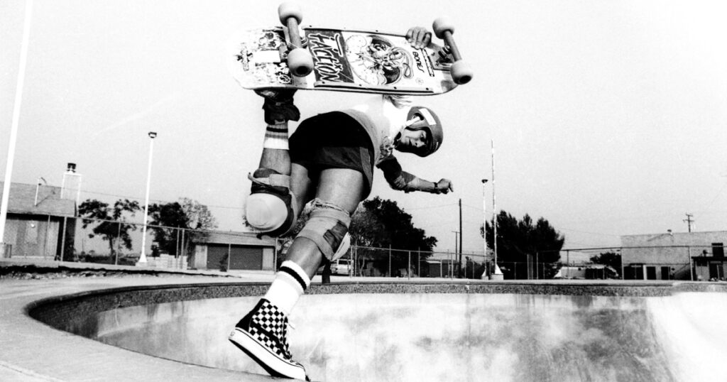 Stacy Peralta, one of the best skateboarders of all time